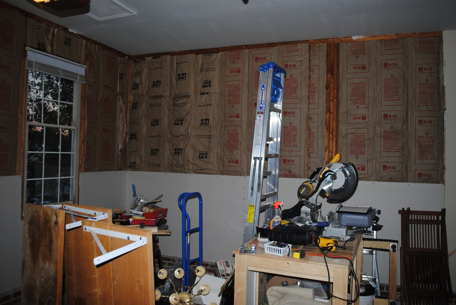 Our Life As We Live It Garage Man Cave Transformation