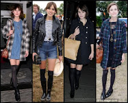 Alexa Chung in action