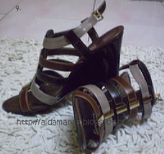 Another sexy shoes from CnK..actually ni beli lama dah, tapi saja je ...