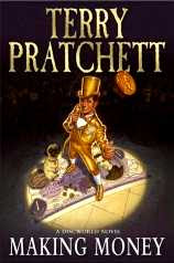 Paul Kidby - Cover for Terry Pratchett's Making Money (2007)