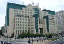 MI6 HQ front view, architect Terry Farrell