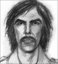 Drawing of Suspect in Madeleine McCann case (2008)