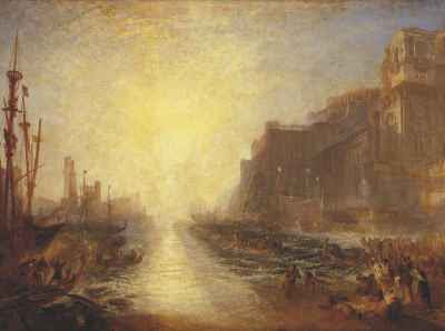 JMW Turner - Regulus (1828) reworked 1837 © Tate, London