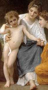 Adolphe-William Bouguereau - L'Admiration (1897)