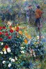 Pierre-Auguste Renoir - Garden in La Rue Cortot, Montmartre (1876)