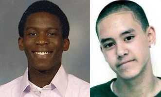 Schoolboy victims: Michael Dosunmu (left) and Billy Cox (right)