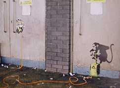 Banksy - Explosive Monkey (2007)