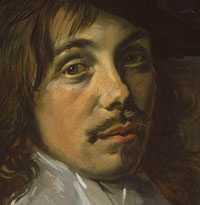 Frans Hals - Willem Coymans (1645) detail