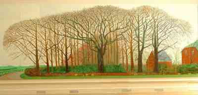 David Hockney - Bigger Trees Near Warter