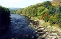River Wye at Erwood, Wales