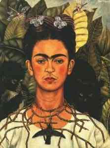 Frida Kahlo - Self Portrait (one of many)