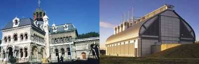 Old and New: Abbey Mills Pumping Station