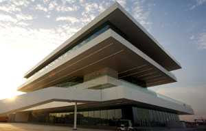 Architect David Chipperfield - America's Cup Pavilion, Valencia