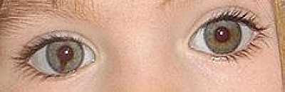 Madeleine McCann's Eyes (photo 2007)