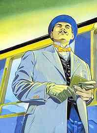 Hercule Poirot (artist unknown)