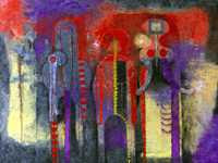 Rufino Tamayo - Tres Personajes (1970)