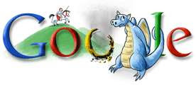 Google Doodle - St George and the Dragon (2008)