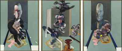 Francis Bacon - Triptych (1976)