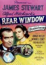 Poster for Alfred Hitchcock's Rear Window (1954)