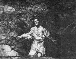 Francisco de Goya - Tristes Presentimientos de lo que ha de suceder (1810-1815)