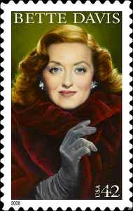 US Mail - Bette Davis Postage Stamp (2008)