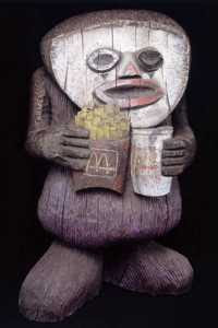 One of The Chapman Family Collection with chips (2002)