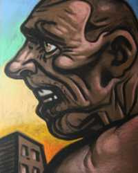 Peter Howson - Hardman's Face
