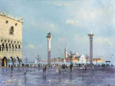 Robert King - Piazza San Marco, Venice