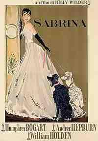 Ercole Brini - Italian poster for Sabrina