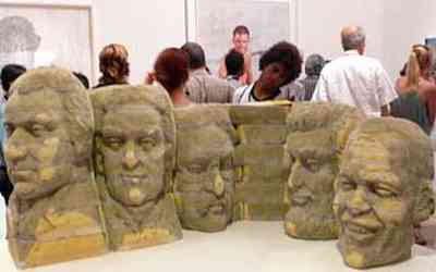 Long-Bin Chen - The New Mount Rushmore (with Barack Obama)