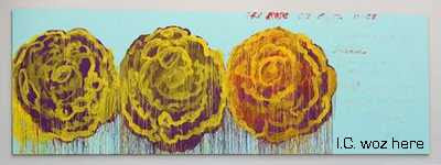 Cy Twombly - The Rose III (1928)