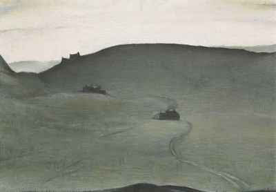L.S. Lowry - Wuthering Heights