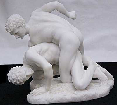 Reproduction of Greek Wrestlers (1st Century BC)