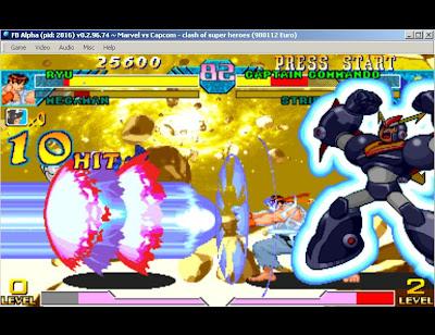 Marve VS Capcom