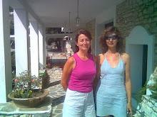 Mi amiga Lidia y yo