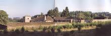 Los tejados del pazo de Souto