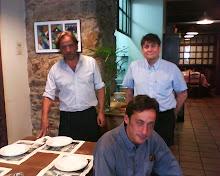 Santi, Jose y Manolo en el Sauce