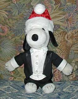 Snoopy's bowtie