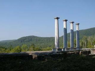 beyond the columns