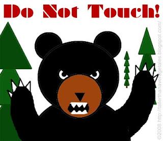 angry mama bear