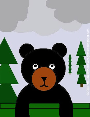 Bear under weather 2