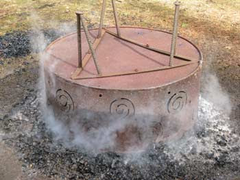 upended fire pit 1