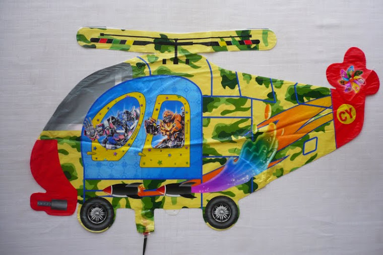 Balon Helikopter Rp.5000/pcs (min.order 50pcs)