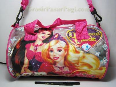 Tas Guling Jinjing Selempang Barbie Rp.12.000/pcs