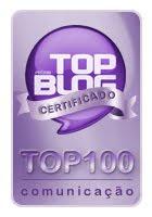 a monaLou entre os 100 na categoria comunicação: