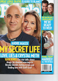People Magazine Cover Layout