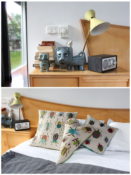 Tractor Bedside Lamp : The design files melbourne home mandy munro of tractor