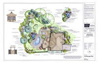 Detailed Colour Landscape Design