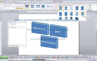 Crear diagramas en word informtica para principiantes por ejemplo podemos cambiar la orientacin de los bloques para ello en con el diagrama seleccionado vamos a la pestaa diseo y seleccionamos el que ccuart Images