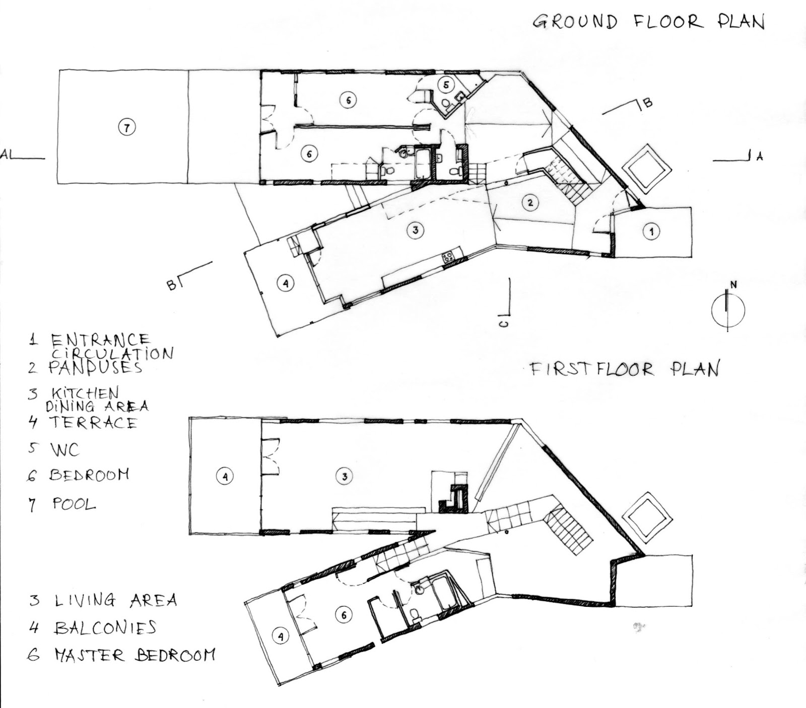 y house steven holl floor plans y house by steven holl On y house steven holl floor plans